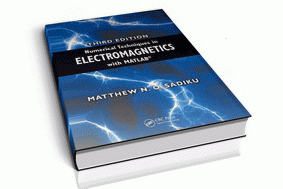معرفی کتاب Numerical Techniques in Electromagnetics with MATLAB