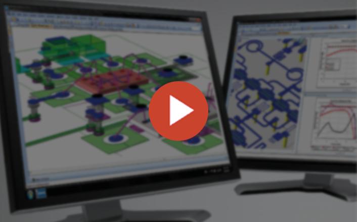 طراحی آنتن در نرم افزار AWR Microwave Office