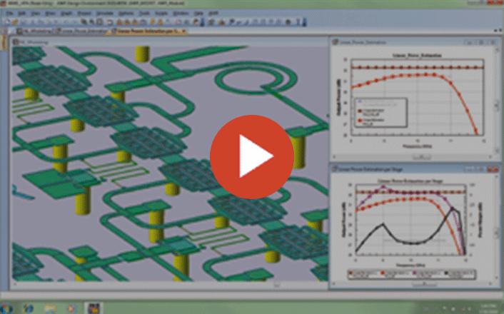 تحلیل EM در نرم افزار AWR Microwave Office