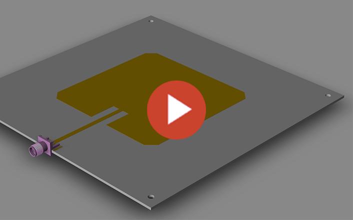 آمادهسازی PCB آنتن مایکرواستریپ در ۴ حرکت!